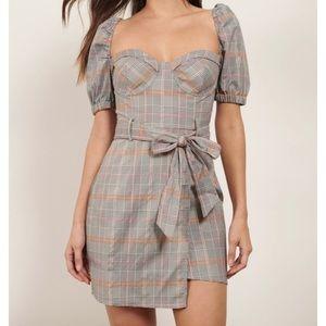 Gia puff sleeve dress